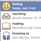 Facebook додасть до статусів що ви дивитесь, слухаєте, читаєте, їсте, п'єте тощо