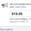 Facebook тестує опцію Promote Your Page Posts