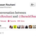 Іранський президент витер твіт про розмову з Обамою