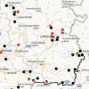Журналісти створили інтерактивну карту бойових дій на сході України