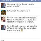 Facebook запустив груповий текстовий чат
