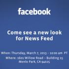7 березня Facebook представить новий вигляд стрічки новин