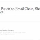 В The New York Times вийшла найкоротша стаття – в ній лише одне слово