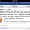 Мобільна стрічка на Facebook отримала кнопки Like і Comment