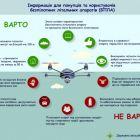 Власникам дронів не радять пілотувати апарат під час спортивних заходів та концертів