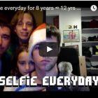 Підліток 8 років робив щодня селфі, на основі яких вийшов неймовірний ролик про зміни в його зовнішності