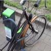 У Києві з'явилась «розумна» велопарковка, якою можна керувати з телефону