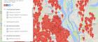 В інтернеті з'явилася карта бомбосховищ та укриттів Києва