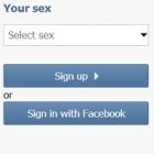 ВКонтакте тестує можливість реєстрації через Facebook
