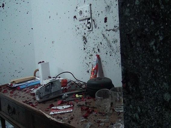 У столичній ІТ компанії в кабінеті директора вибухнув принесений букет квітів (відео+фото)