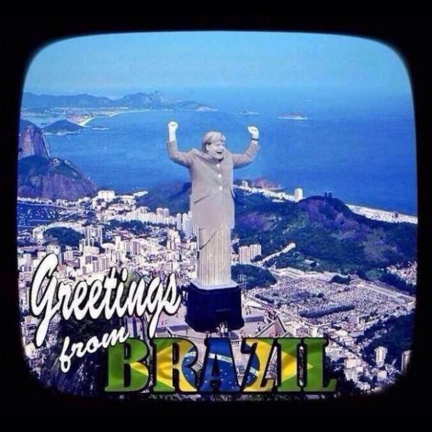 Бразилія вщент програла Німеччині. Інтернет заполонили фотожаби за підсумками матчу