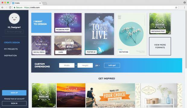 Depositphotos запустив безкоштовний графічний редактор Crello