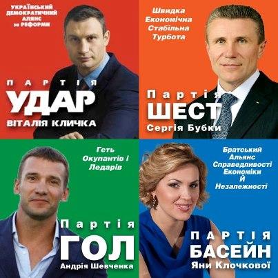 Український політичний інтернет: 2012