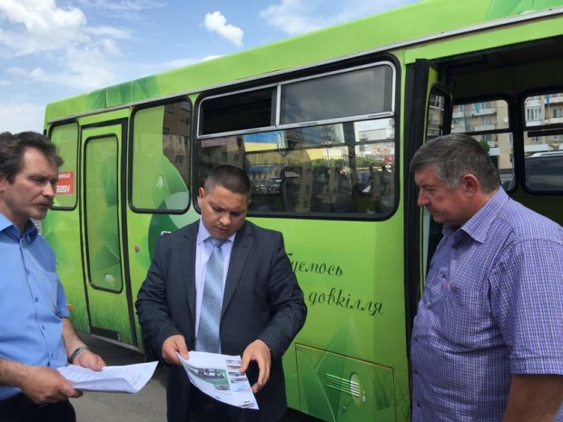 В Україні запустили першу вітчизняну маршрутку з електродвигуном