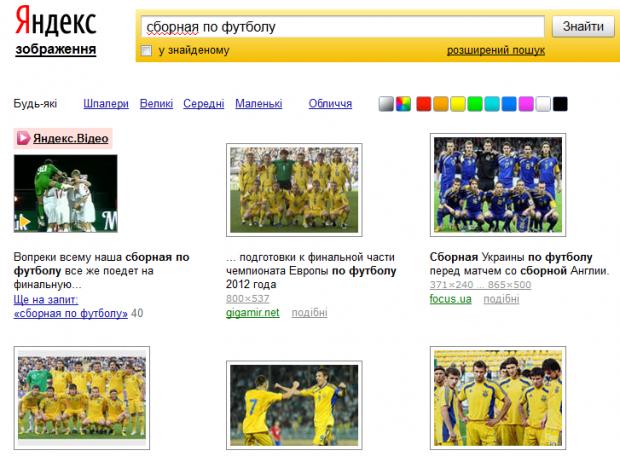 Яндекс оптимізував пошук зображень для українців