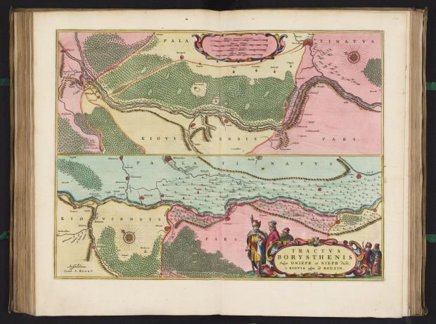 В онлайн виклали одну з найбільших колекцій старовинних карт, в тому числі сотні карт території України