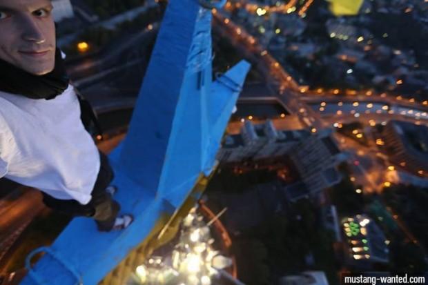 Пост київського руфера став найпопулярнішим в українському Facebook