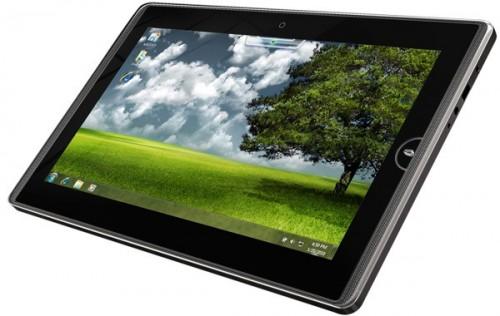 Asus EEE Pad: 10 дюймовий сенсорний планшет з Windows 7