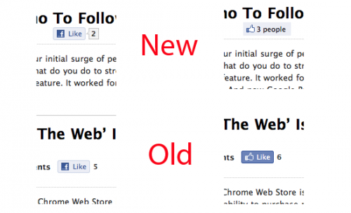 Facebook отримає нову кнопку Like
