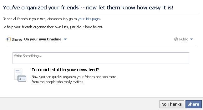 Як бачити менше інформації від деяких друзів у Facebook