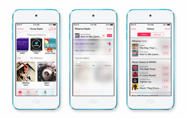 iOS 7: Apple кардинально змінює дизайн нової операційної системи для iPhone і iPad