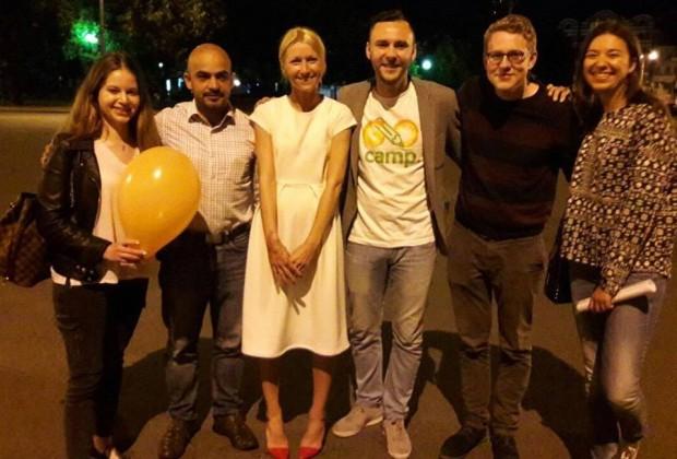 117 волонтерів з 38 країн світу навчатимуть влітку українських дітей англійської мови в таборах #GoCamps