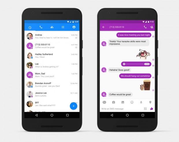 Користувачі Android зможуть отримувати і відправляти SMS через Facebook Messenger