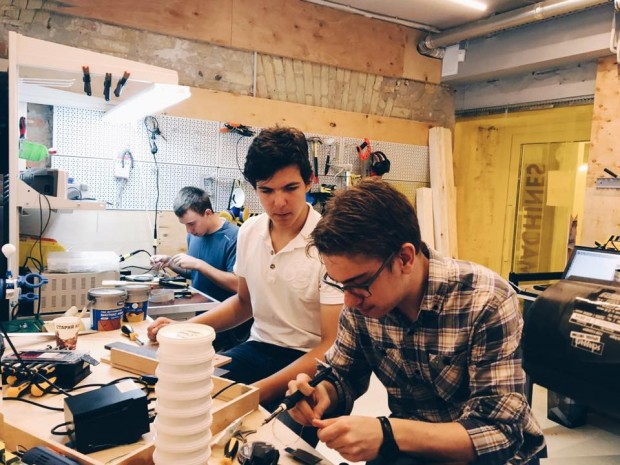 У Києві відкрили інноваційну майстерню FabLab Fabricator
