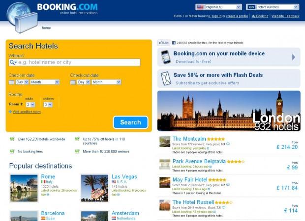 Booking.com видалить з бази готелі, які належать Януковичу та колишнім міністрам