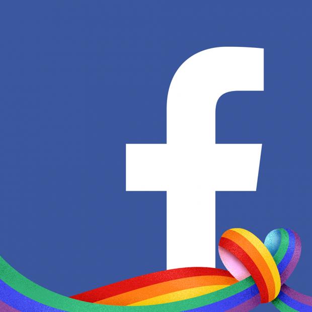 Як перетворити «лайк» на веселку у Facebook?