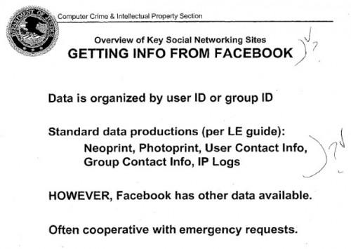 Спецслужби США використовують соціальні мережі для пошуку злочинців