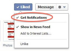 Facebook запустив сповіщення про публікації на сторінках для прихильників