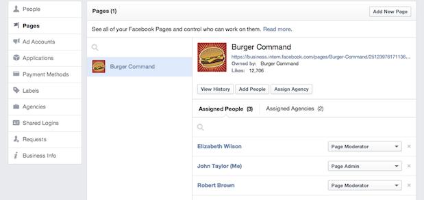 Facebook запустив Business Manager, інструмент для ведення рекламних кампаній