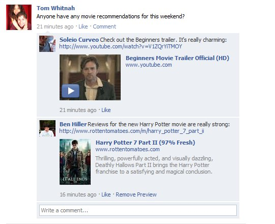 Facebook розширив можливості коментарів на своєму сайті