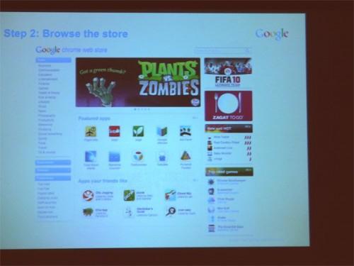 Google відкриє магазин додатків для Chrome