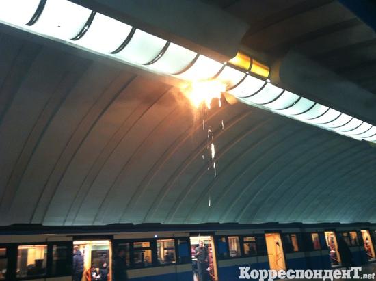 Через пожежу в метро лягли сайти уанету?