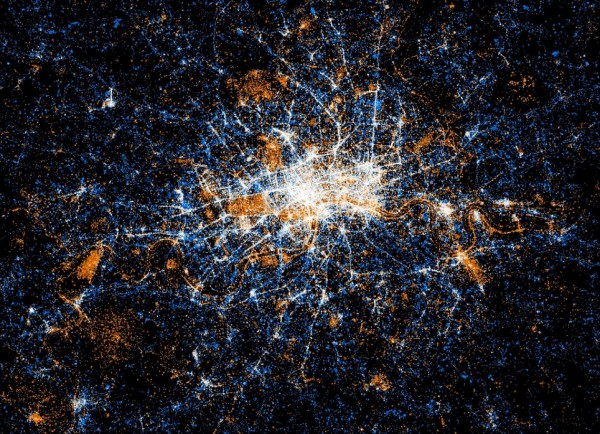 Незвичайні карти соціальних мереж