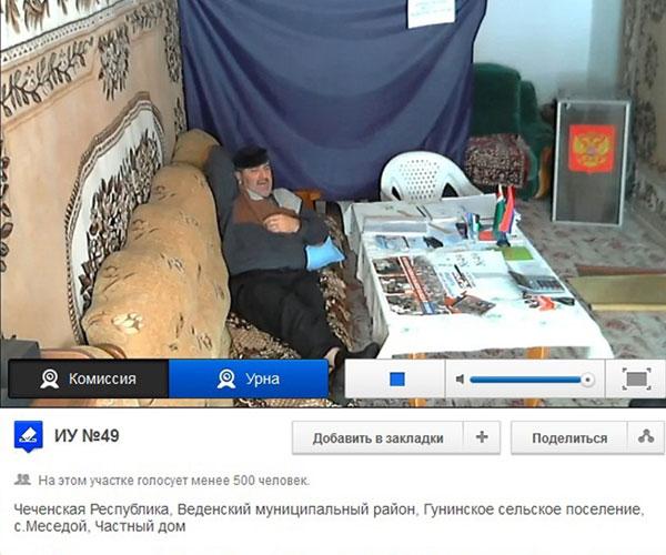 Веб трансляцію з виборів у Росії переглянули 3,5 млн людей