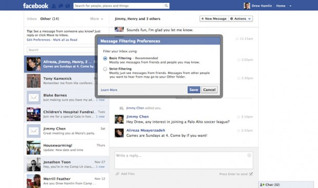 Facebook тестує платну відправку повідомлень незнайомим користувачам