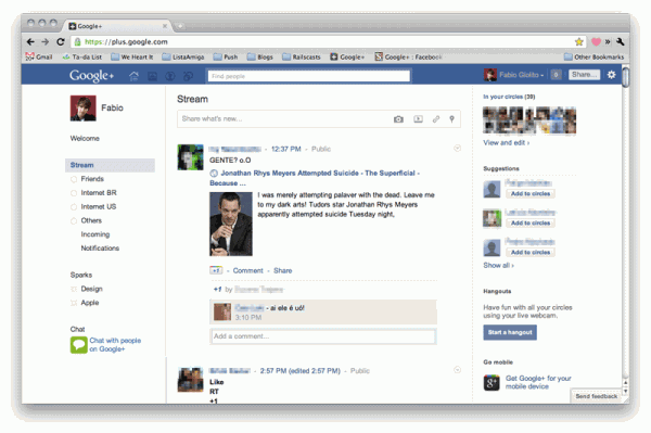 Як зробити Google+ схожим на Facebook