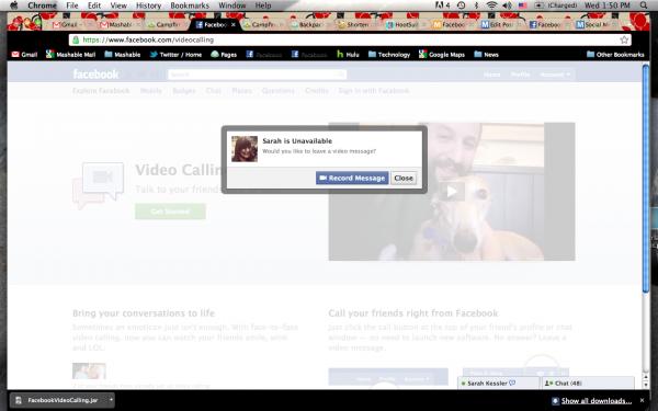 Як запустити відеочат через Facebook