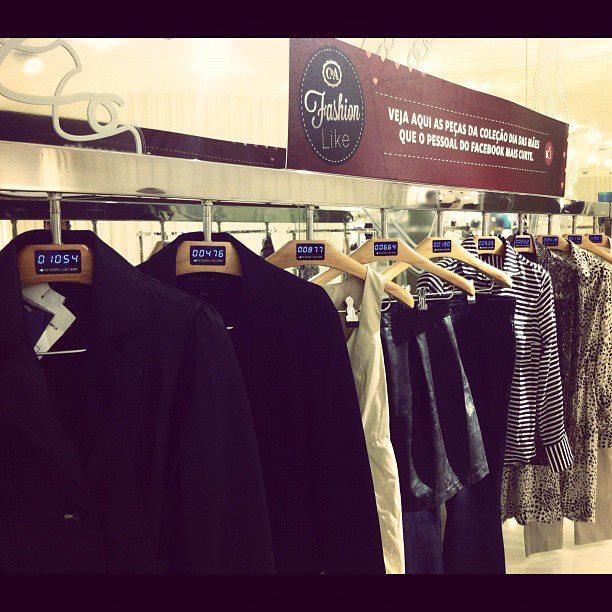 Бразильський магазин показуватиме кількість лайків до одягу