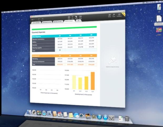 Apple запустить iWork – аналог Google Docs