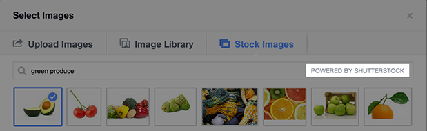 У Facebook рекламі можна буде безкоштовно використовувати зображення з Shutterstock