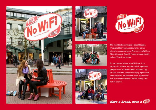 В Амстердамі облаштували Free No WiFi Zone