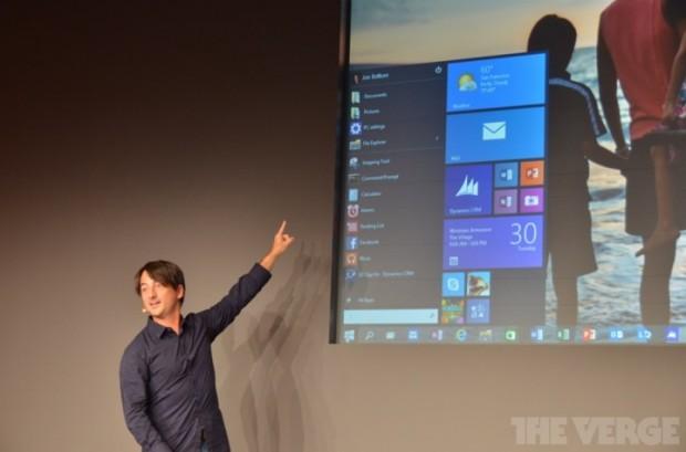 Microsoft презентувала операційну систему Windows 10