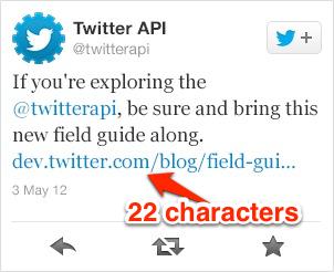 Twitter збільшує розмір скорочених посилань