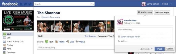 Facebook дозволив користувачам відзначатися на сторінках брендів через карту
