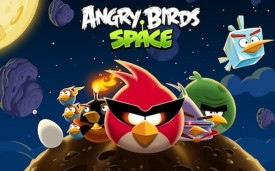 Rovio запустила нову гру Angry Birds Space