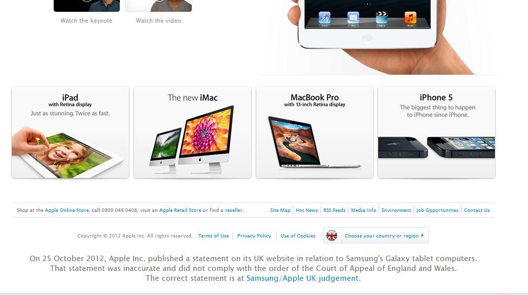 Британський суд зажадав у Apple опублікувати нові вибачення